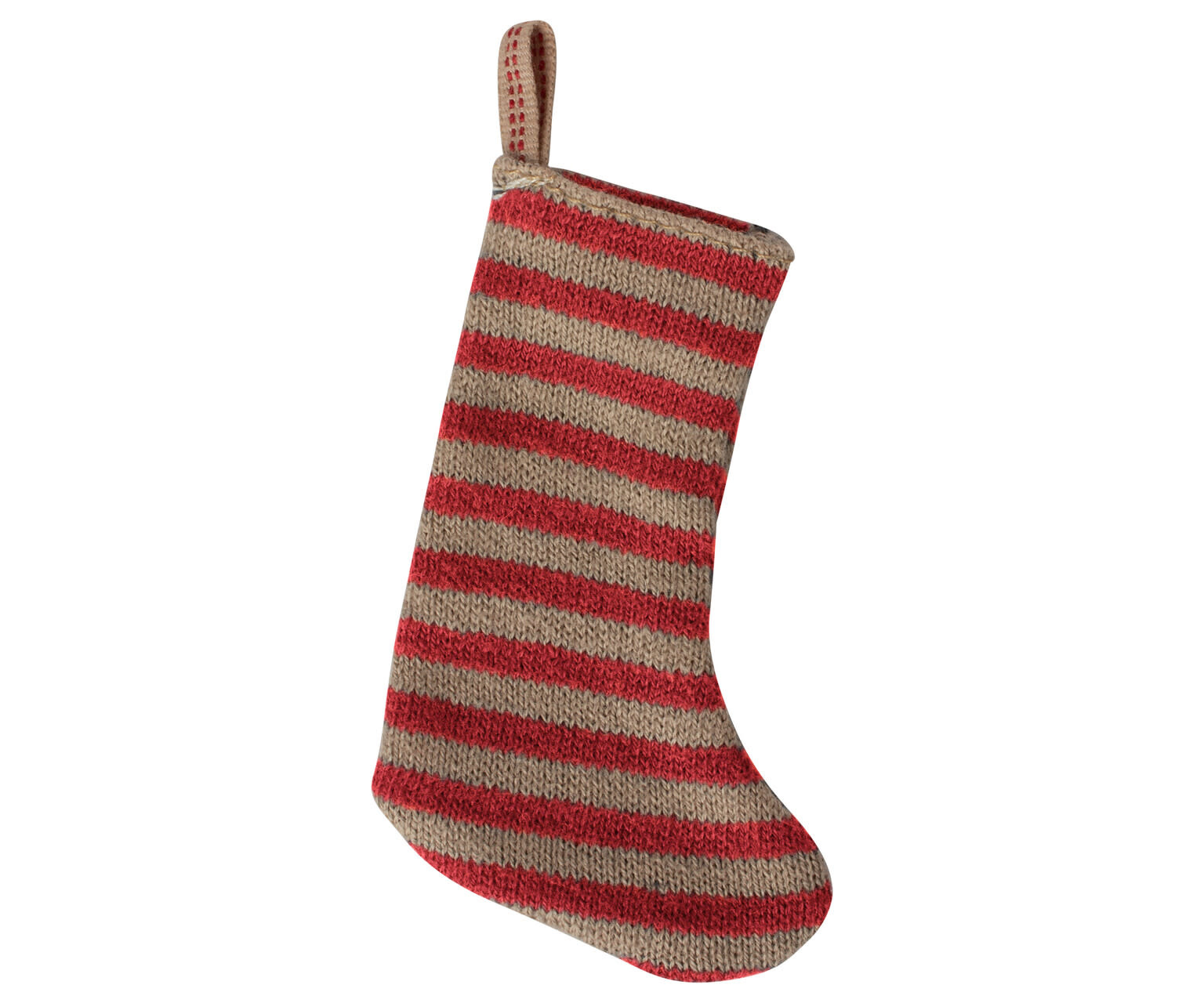 Christmas stocking red/sand-1