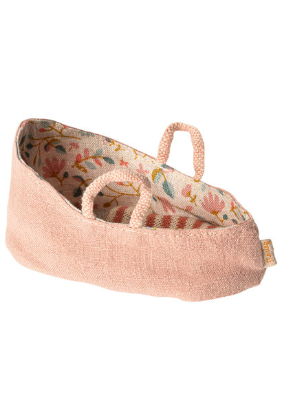 Carry cot, MY, misty rose