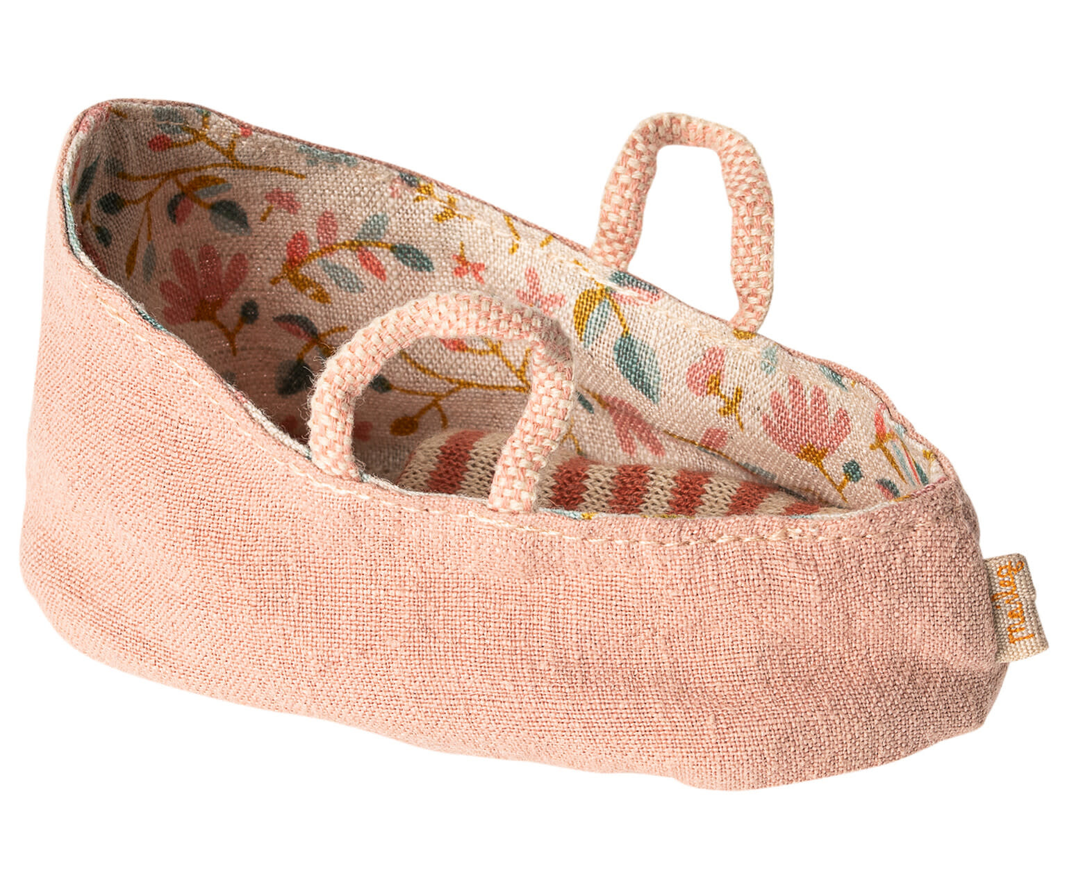 Carry cot, MY, misty rose-1