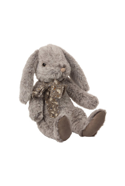 Fluffy bunny large grey