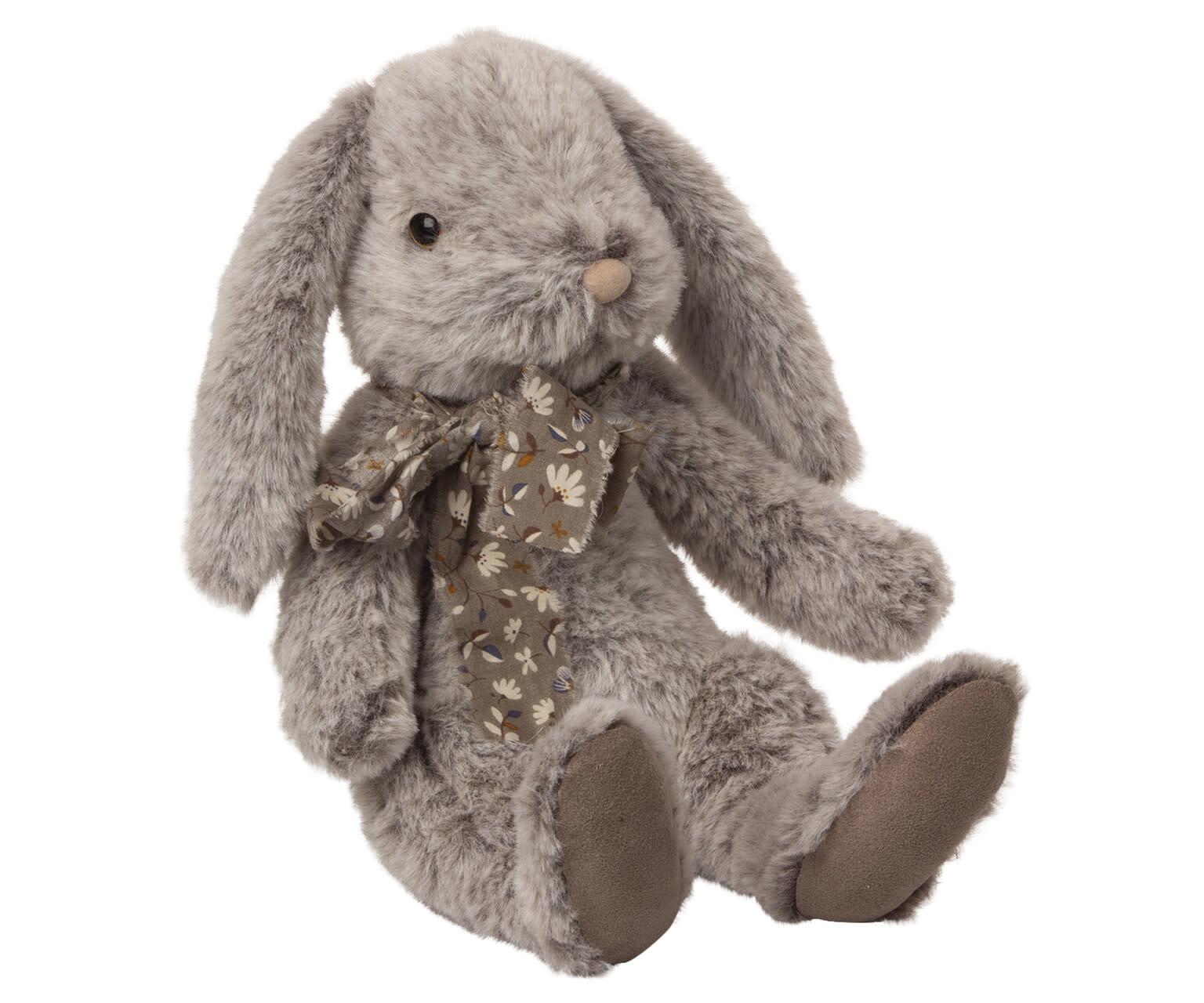 Fluffy bunny large grey-1
