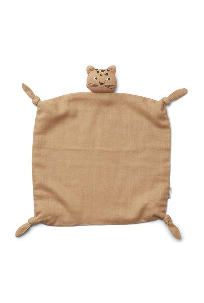 Agnete cuddle cloth leopard apricot