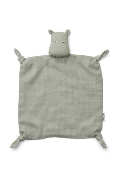 Agnete cuddle cloth hippo dove blue