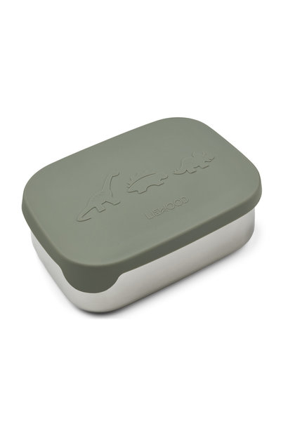 Arthur lunch box dino faune green
