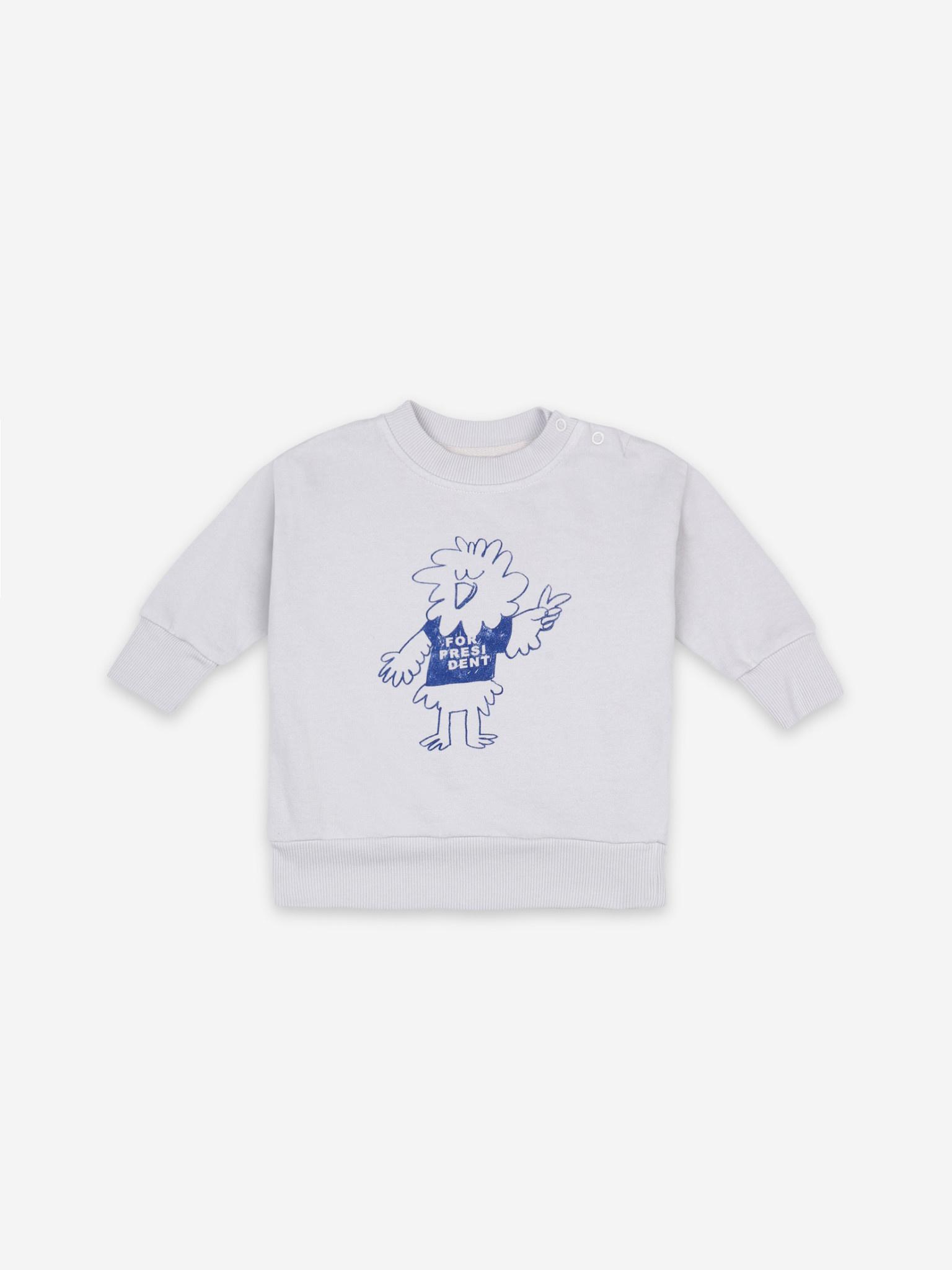 Bird says yes sweatshirt-1