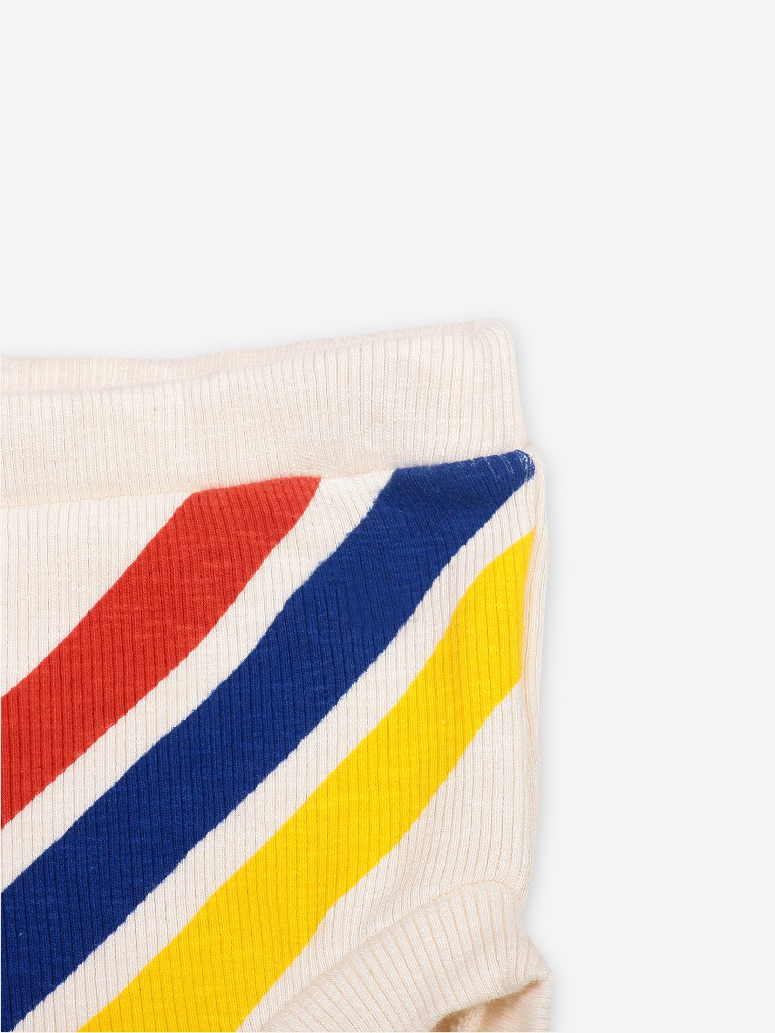 Crosswise stripes culotte-2