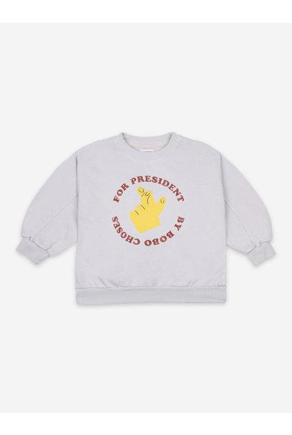 Fingers crossed sweatshirt