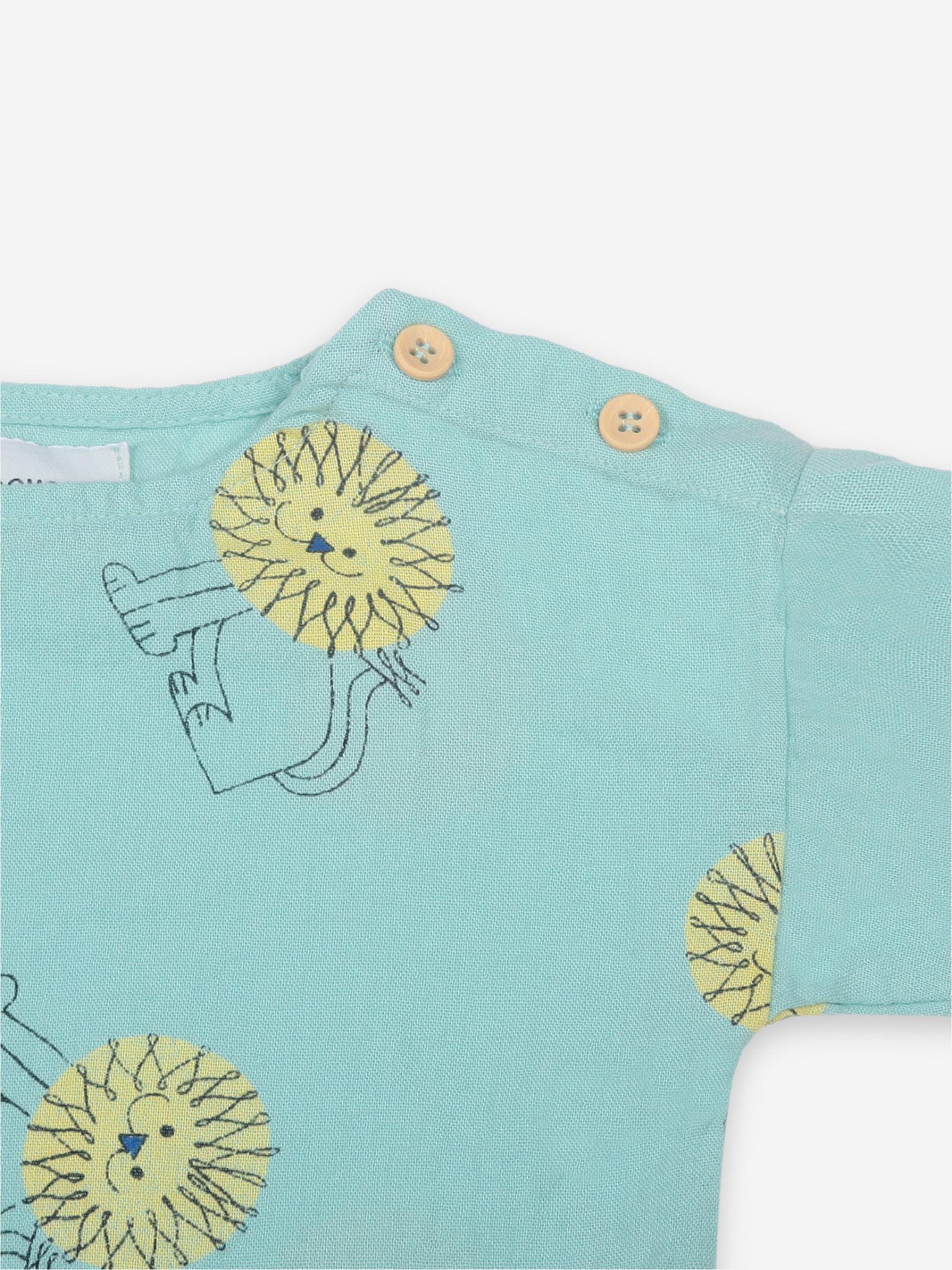 Pet a lion all over shirt-2