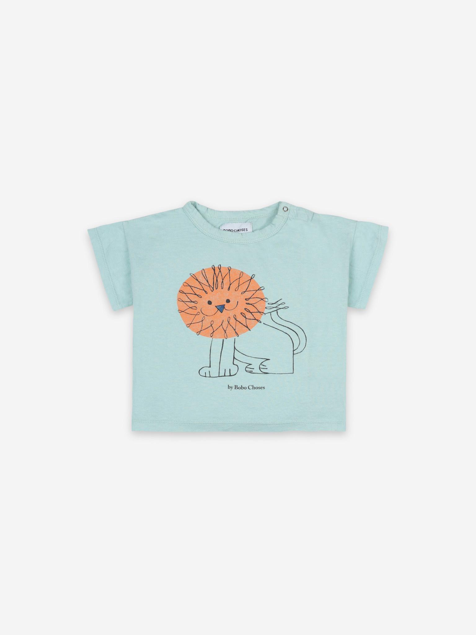 Pet a lion short sleeve t-shirt-1