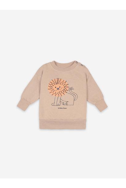 Pet a lion sweatshirt