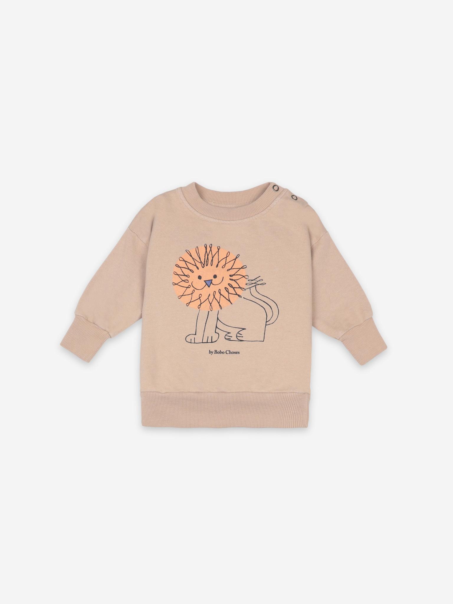 Pet a lion sweatshirt-1