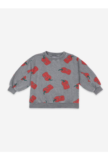 Vote for pepper all over sweatshirt