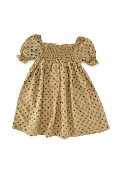 Babydoll dress sage baby