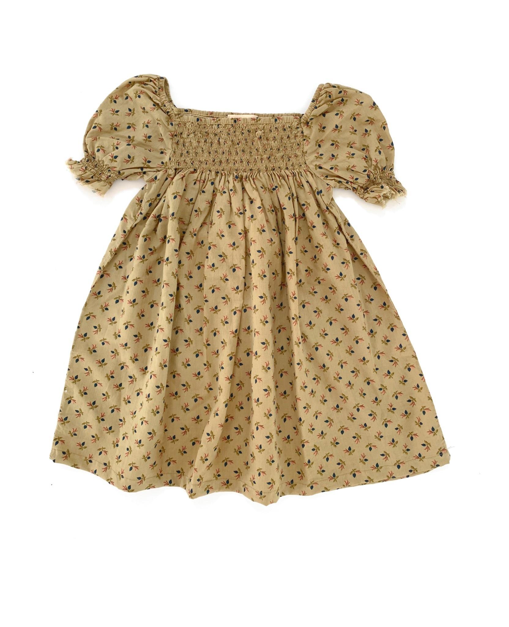 Babydoll dress sage baby-1