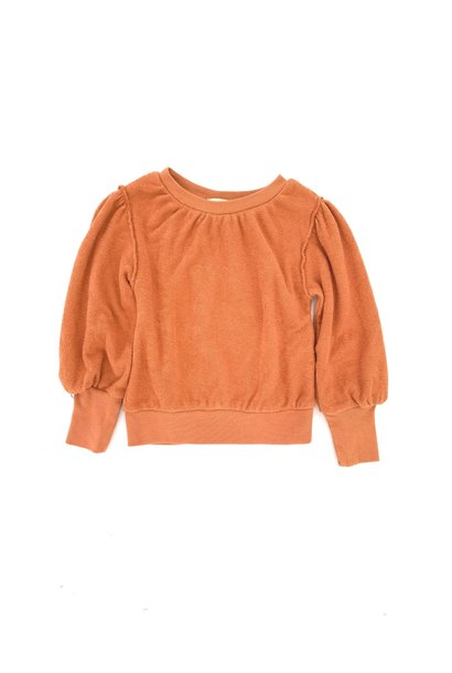 Puffed sweater fazant baby