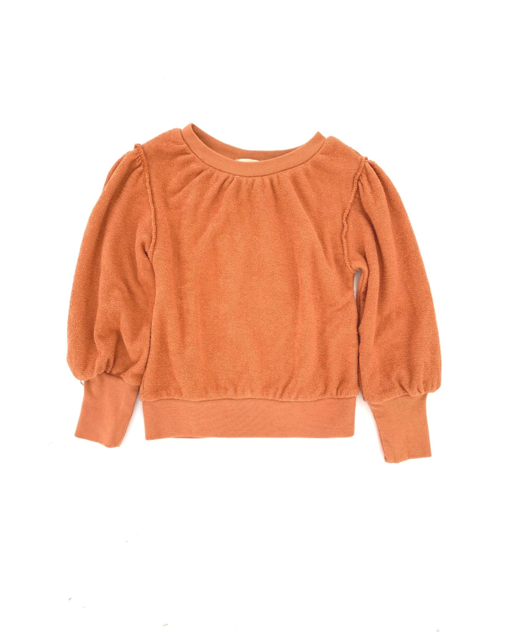 Puffed sweater fazant baby-1