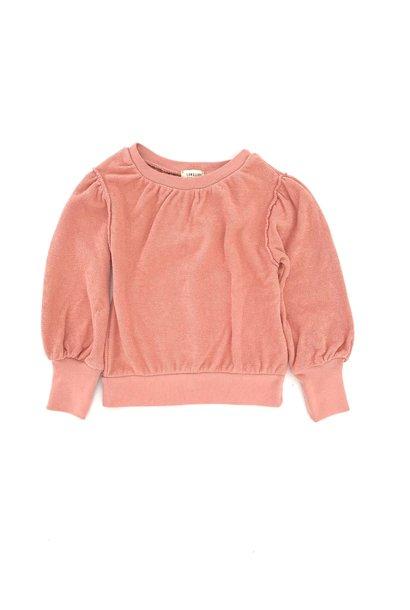 Puffed sweater rose