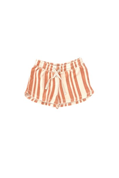 Shorts orange stripe