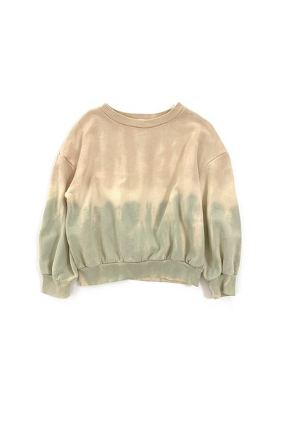 Sweater pastel tie and dye baby