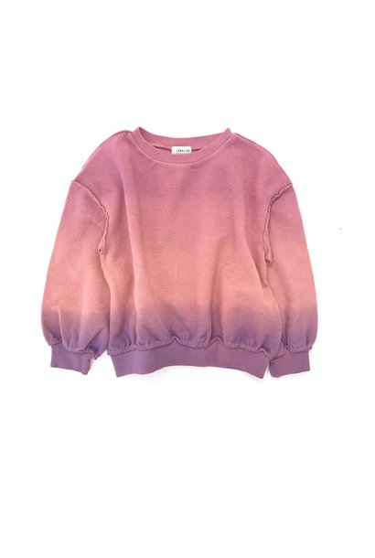 Sweater purple pink baby