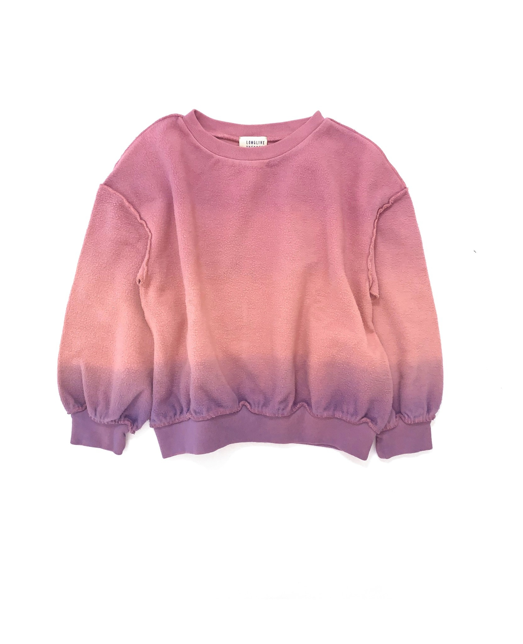 Sweater purple pink baby-1