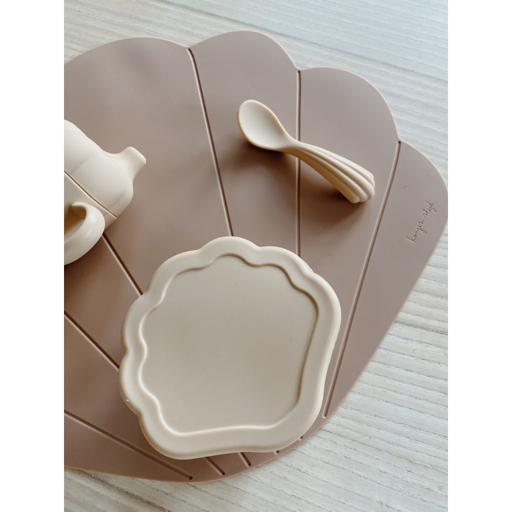 Silicone clam set shell-1