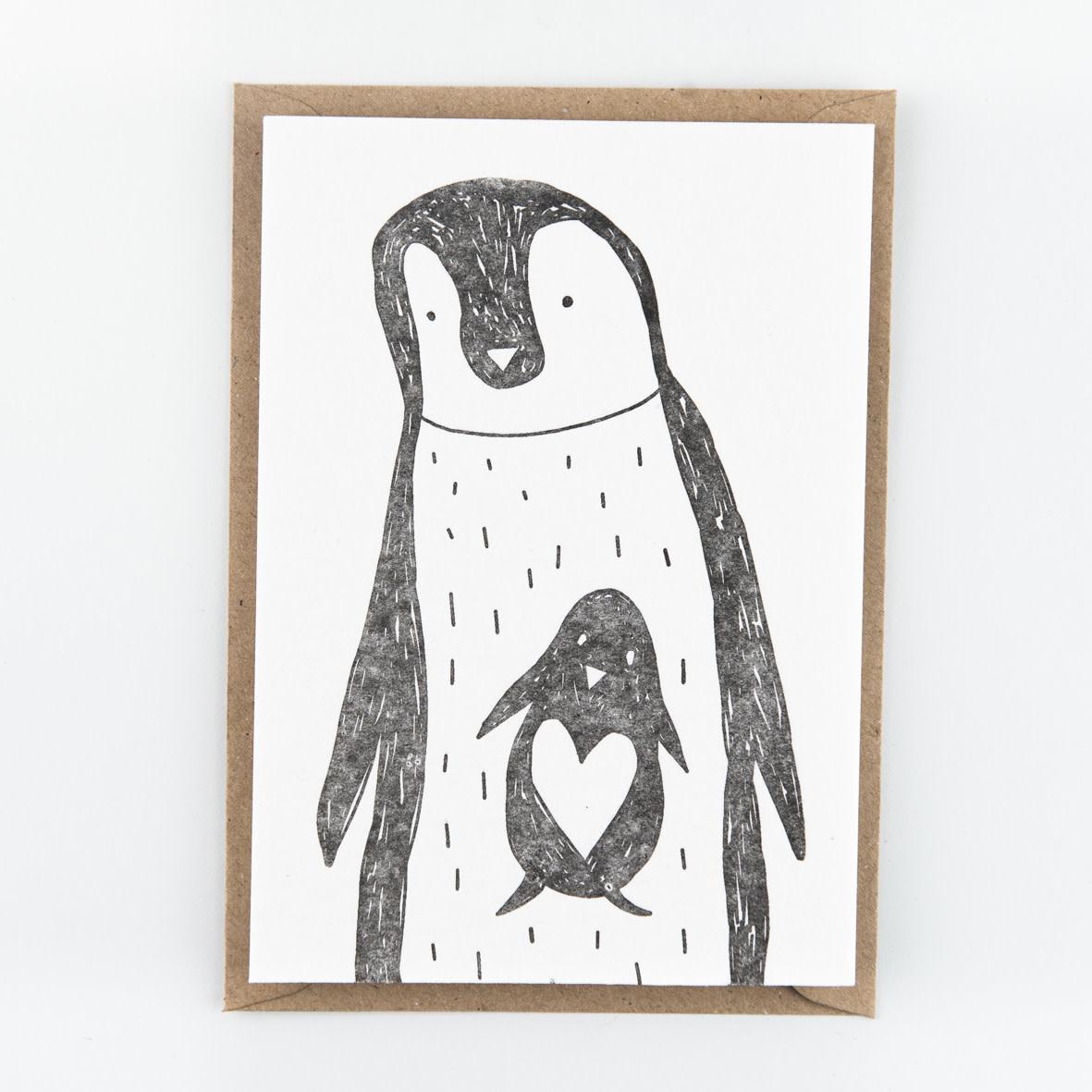 Kaartje 'pinguins'-1