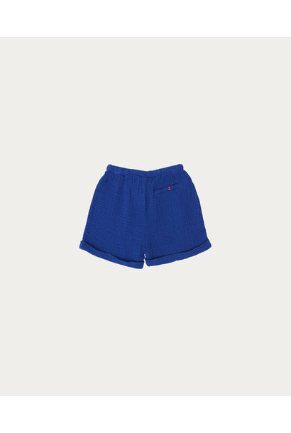 Blue bambula short