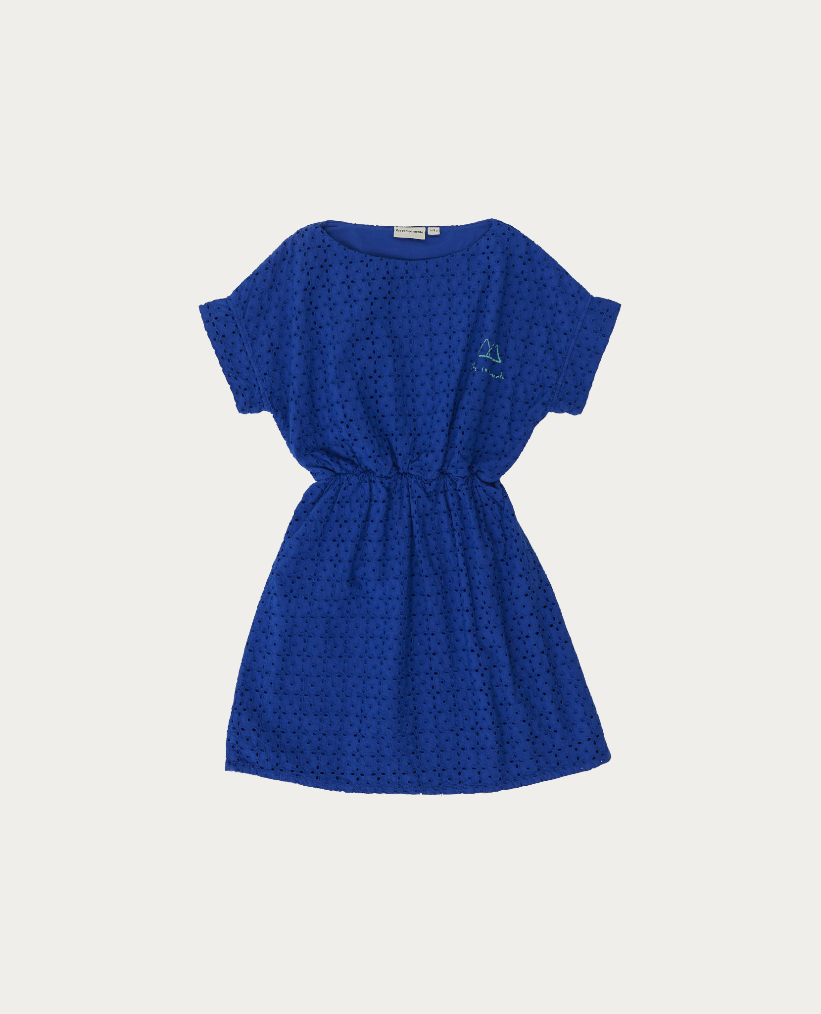 Blue dress-1