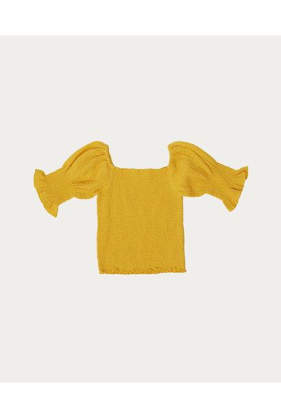 Yellow bambula top
