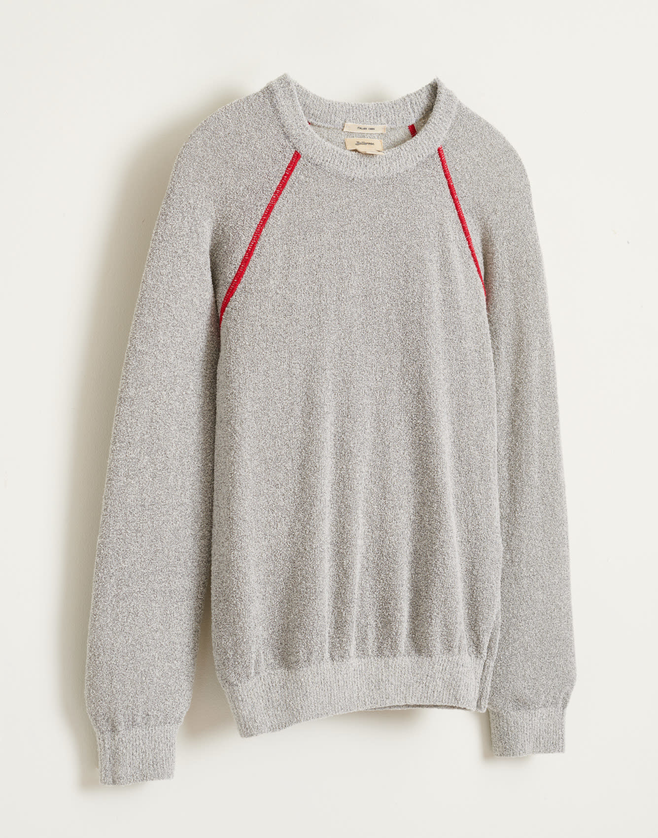 Arife knitwear grey melange-2