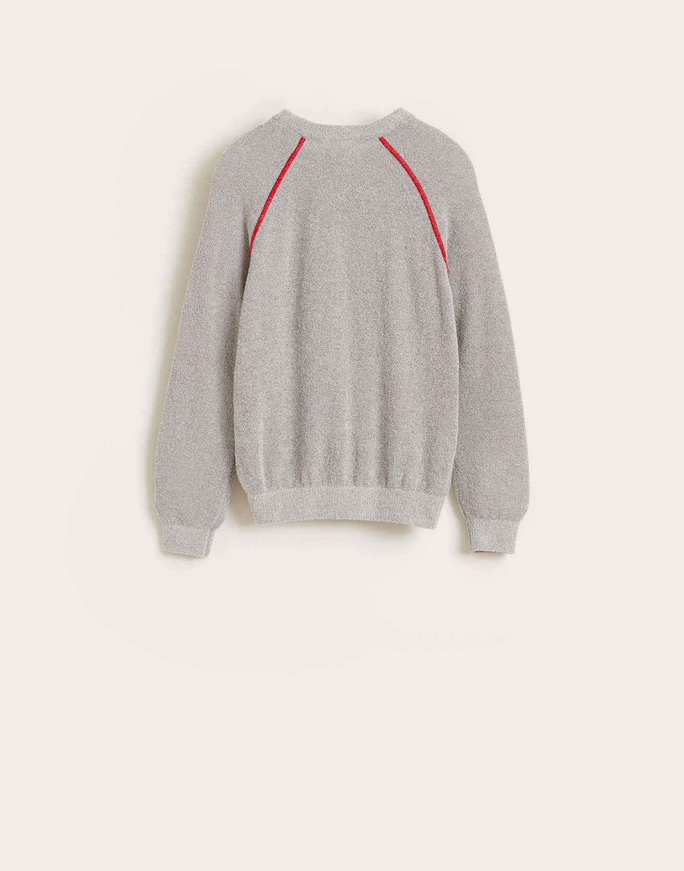 Arife knitwear grey melange-3