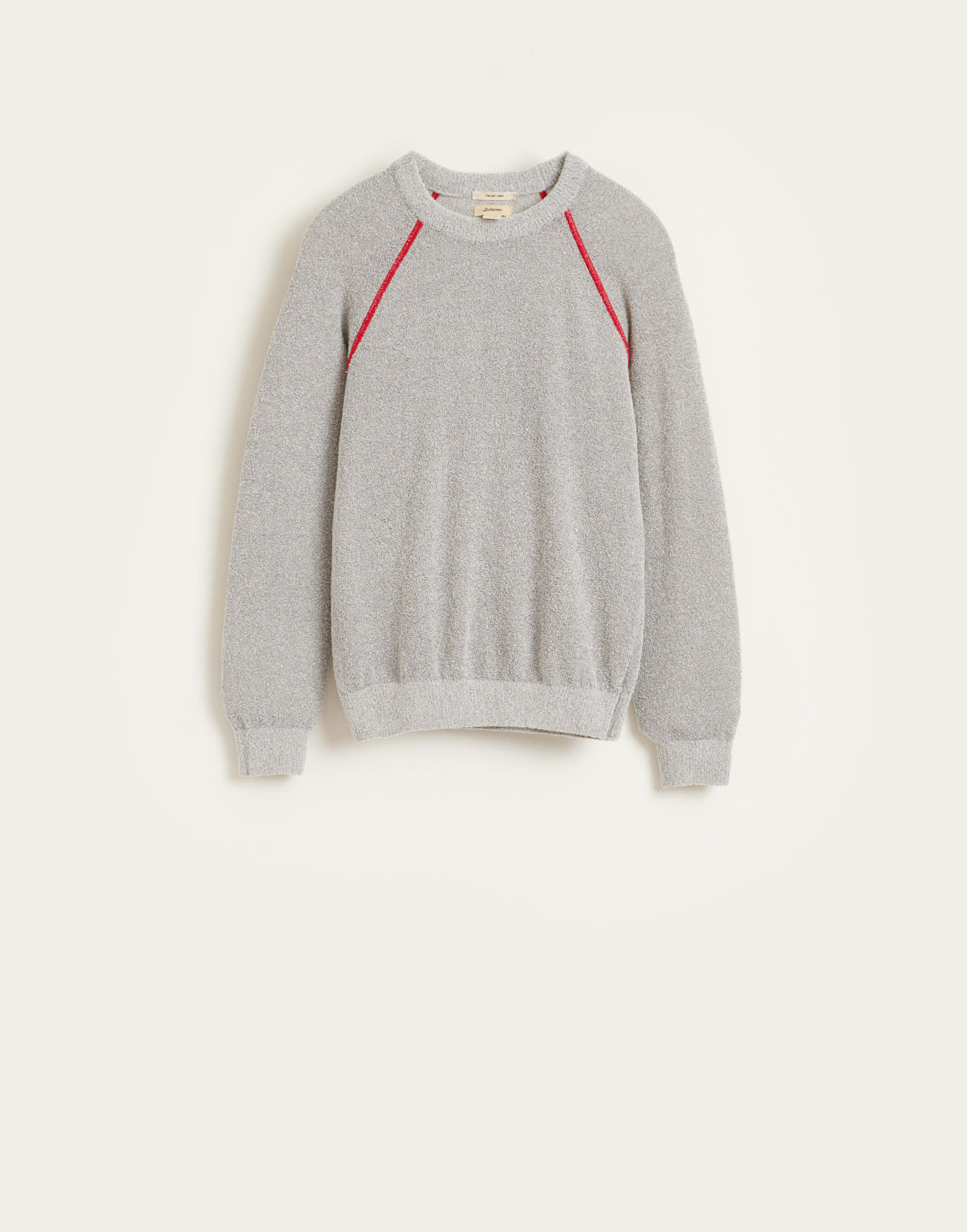 Arife knitwear grey melange-1