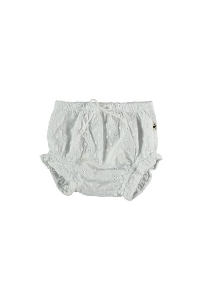 Hazel embroidered bloomers white