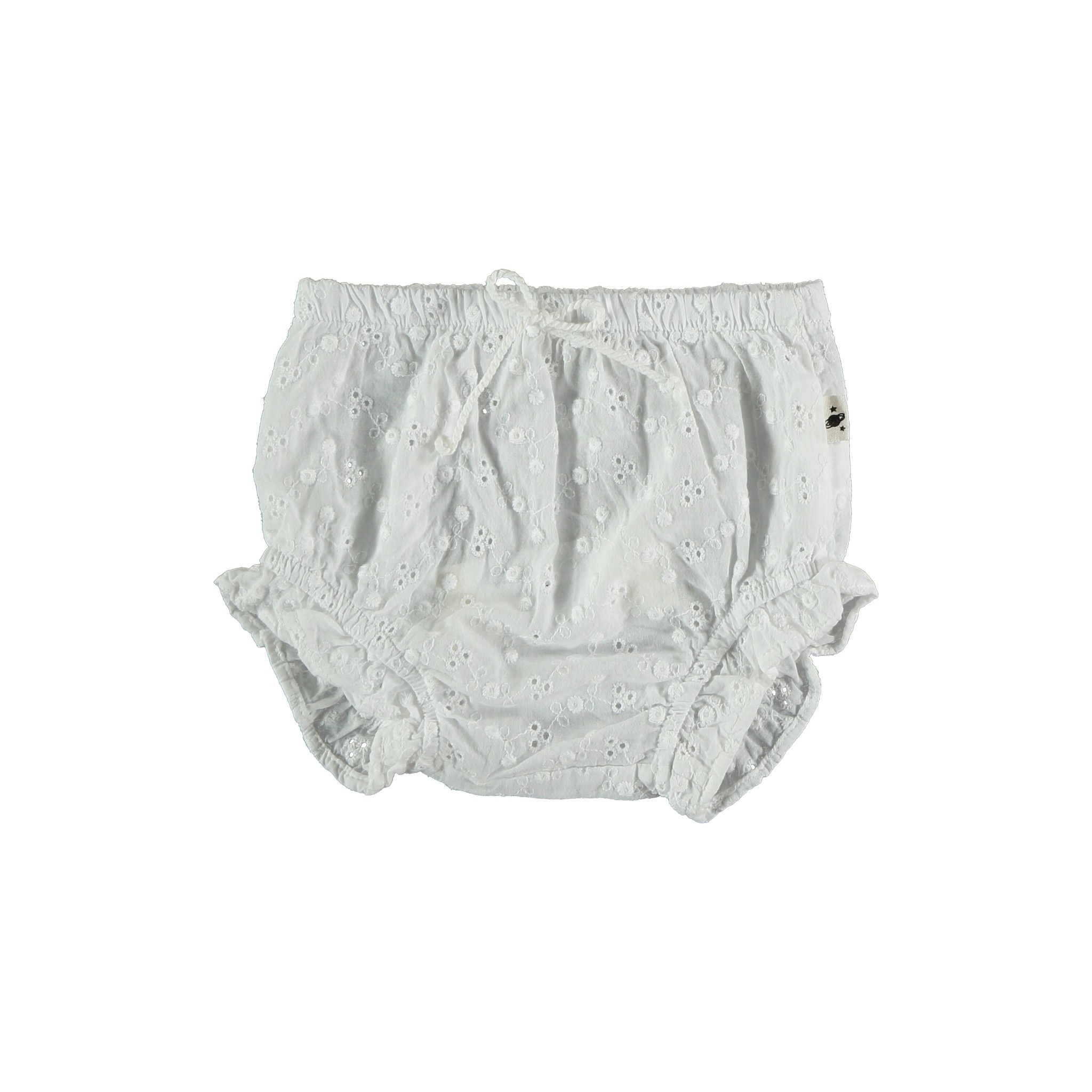 Hazel embroidered bloomers white-1