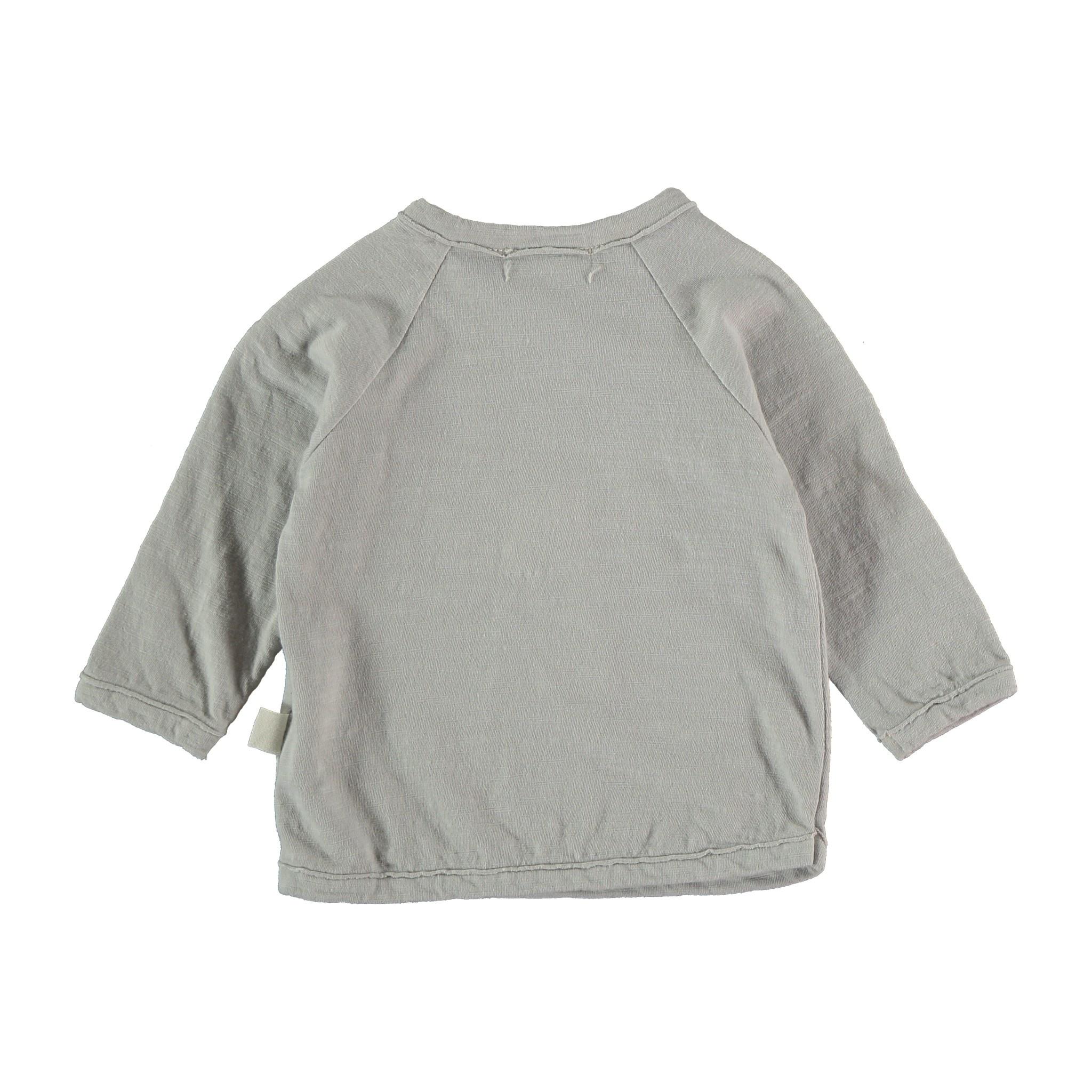 Jace organic flame long t-shirt light grey-2