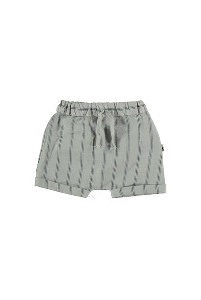 Kai striped shorts light grey
