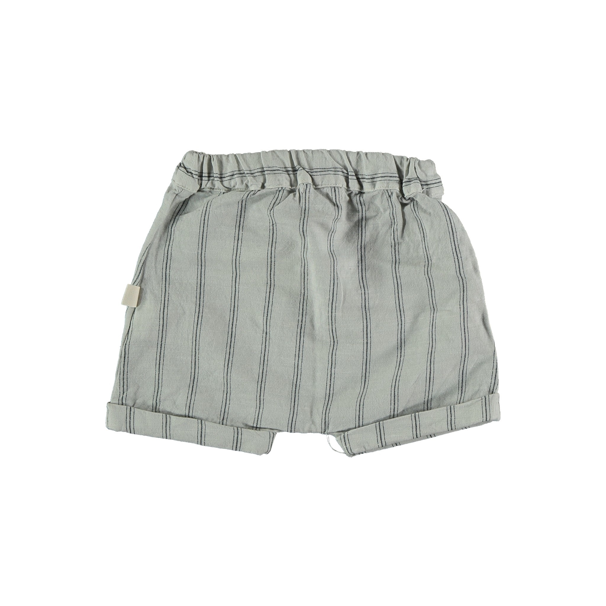 Kai striped shorts light grey-2