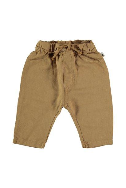 Wyatt linen & cotton pants peanut