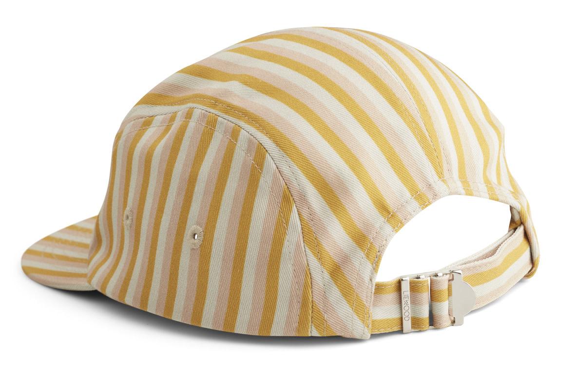 Rory cap stripe peach/sandy/yellow mellow-2