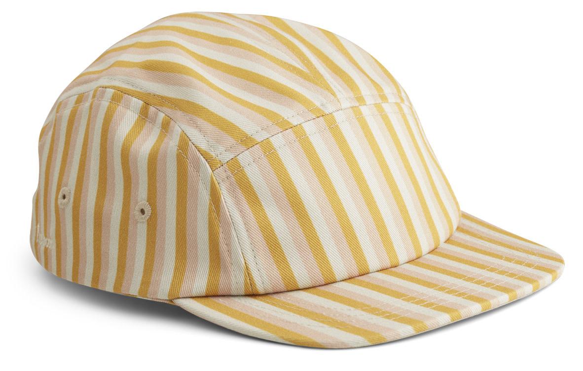 Rory cap stripe peach/sandy/yellow mellow-1
