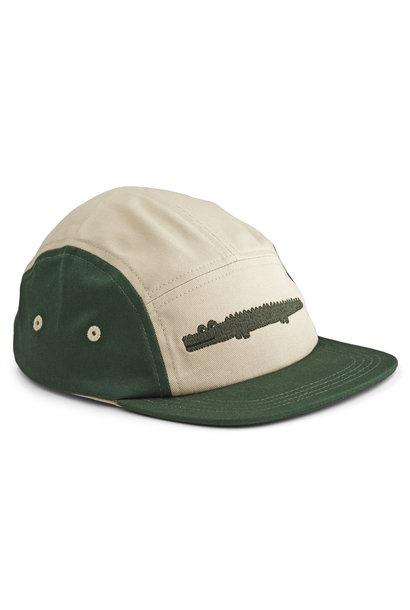 Rory cap crocodile garden green mix