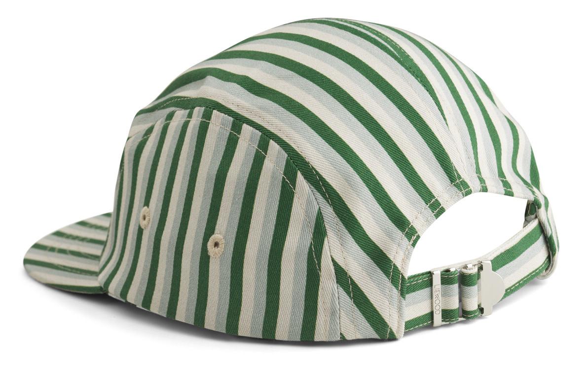 Rory cap stripe garden green/sandy/dove blue-3