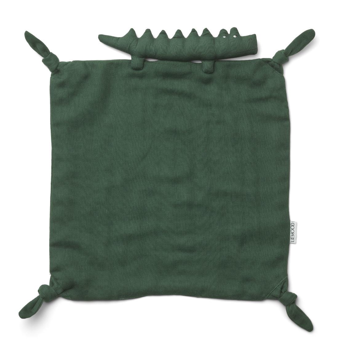 Agnete cuddle cloth crocodile garden green-1