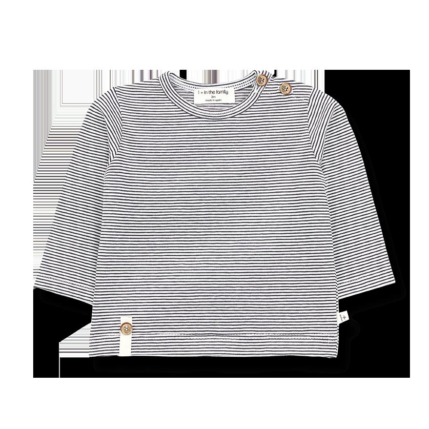 Odon long sleeve t-shirt anthracite-1