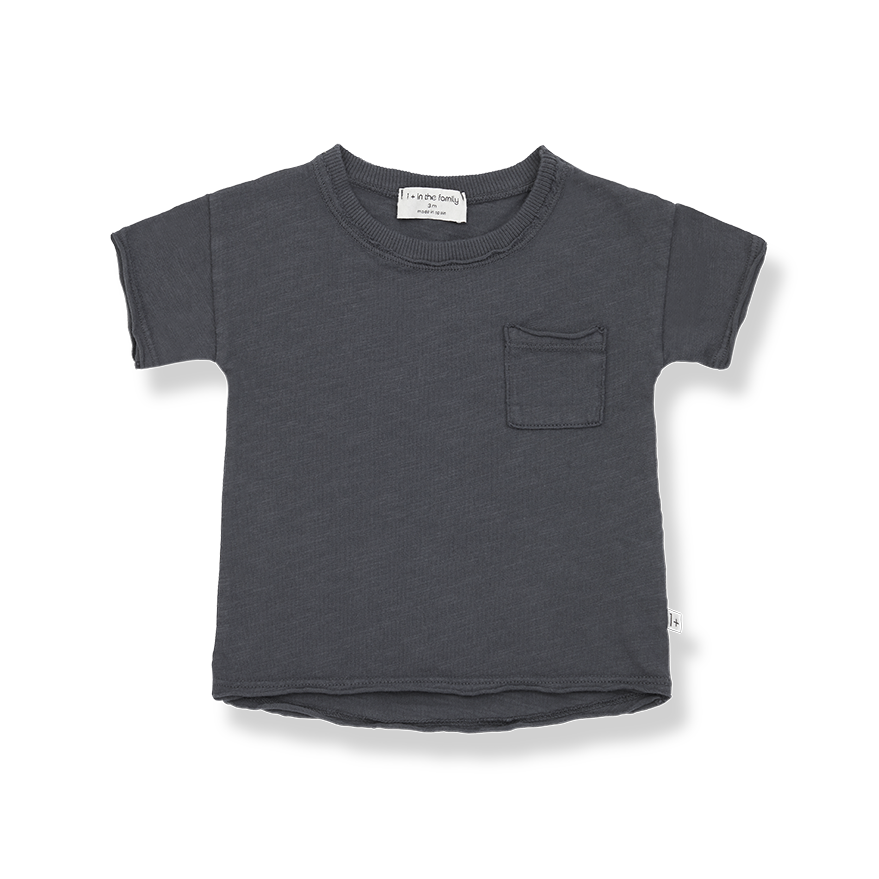 Nani short sleeve t-shirt anthracite-1