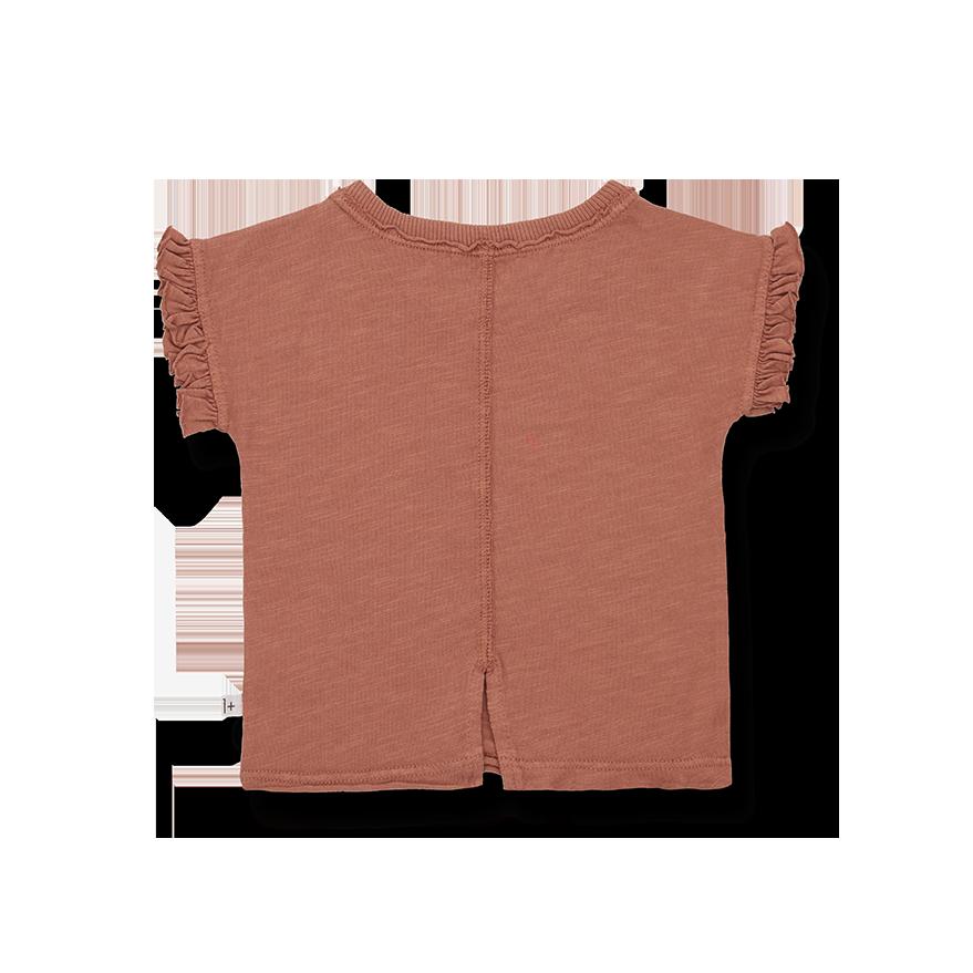 Mireia short sleeve t-shirt roibos-2