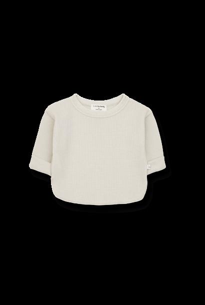Alma long sleeve t-shirt stone