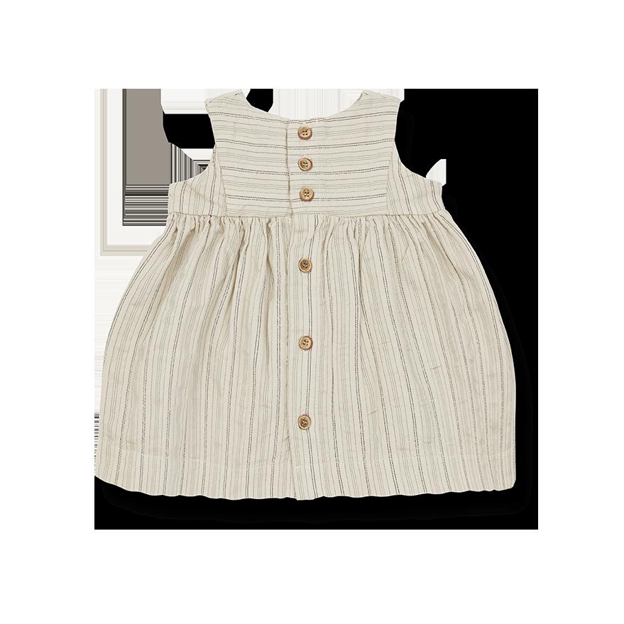 Rita dress beige-2