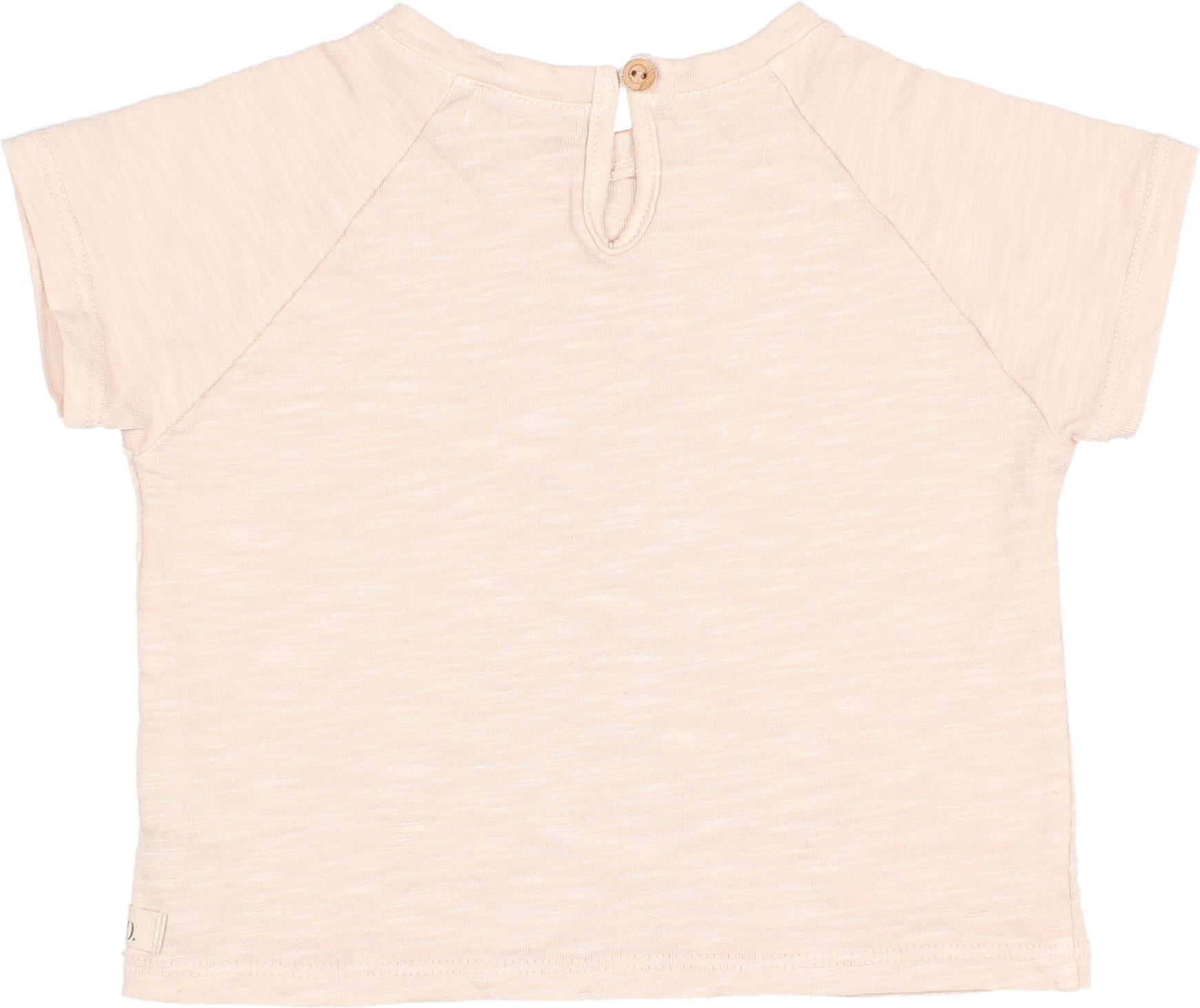 Drew coquelicot t-shirt rose-2